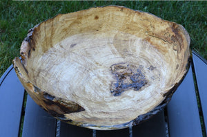 Maple Burl Live Edge Bowl