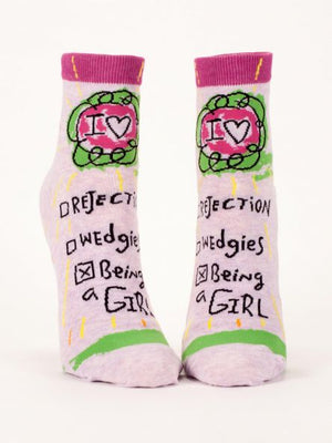 Being A Girl Ankle Socks