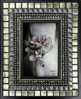 Fern Silk Picture Frame