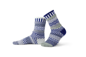 Glacier Adult Crew Socks
