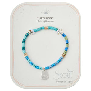 Intention Charm Bracelet Turquoise SG