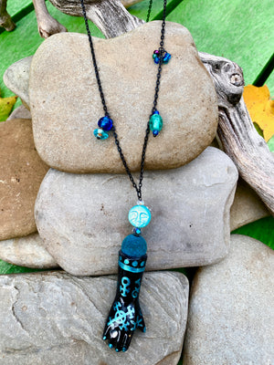 Teal Alchemy Necklace