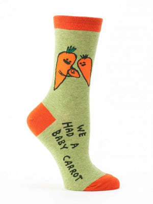 Baby Carrot Crew Socks