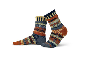 Nutmeg Adult Crew Socks