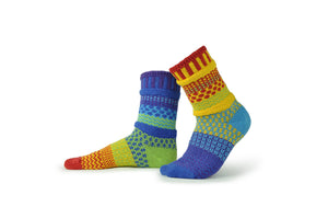 Rainbow Adult Crew Socks