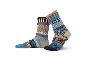 Adult Wool Socks Walnut