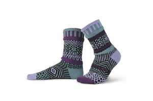 Wisteria Adult Crew Socks