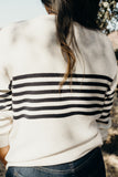 Jess Striped Pullover
