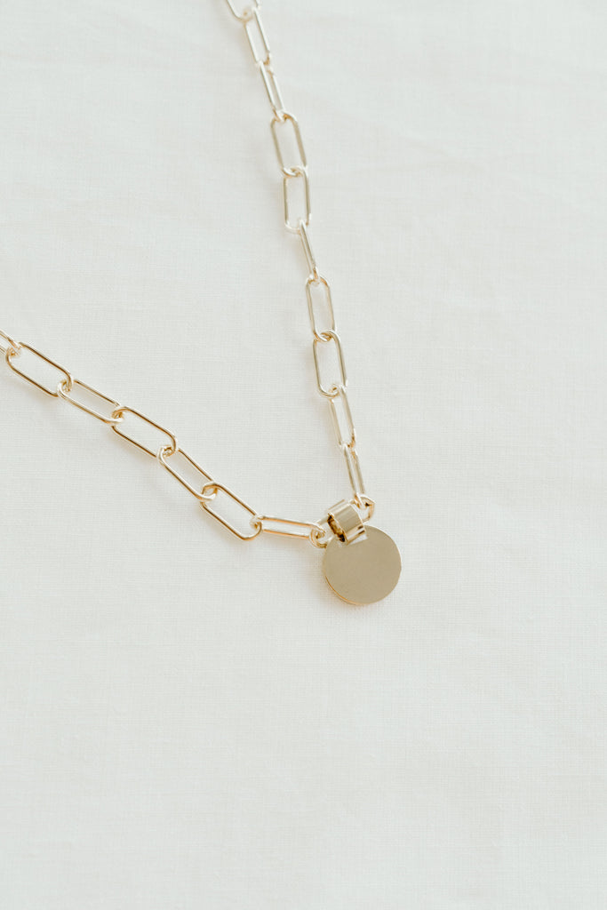 Rylee Chain and Charm Necklace
