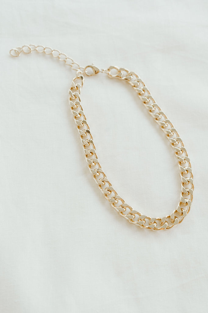 Royce Chain Necklace, Gold