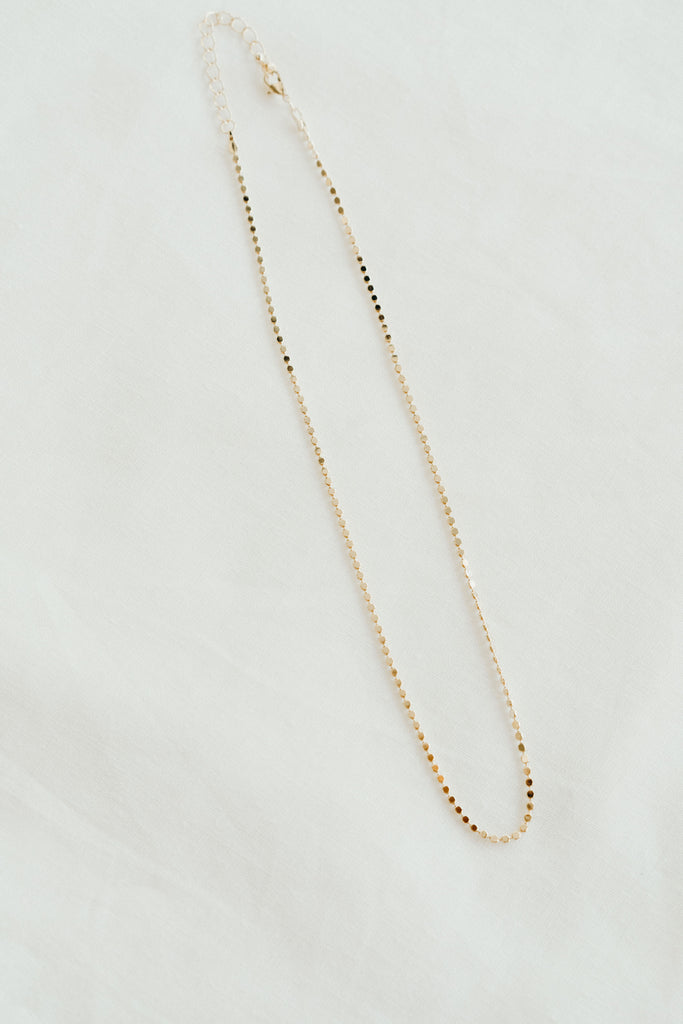 Vanessa Necklace, Gold