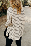 Evelyn Ribbed Pullover Sweater
