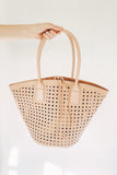 Alison Tote Bag, Blush