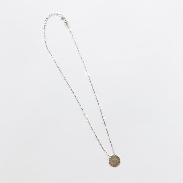 """Sonny"" Plain Circle Necklace"