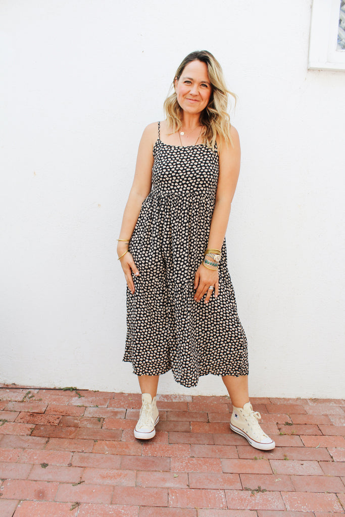 Willow Floral Maxi Dress