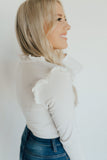 """Zuri"" Blouse, Off White"