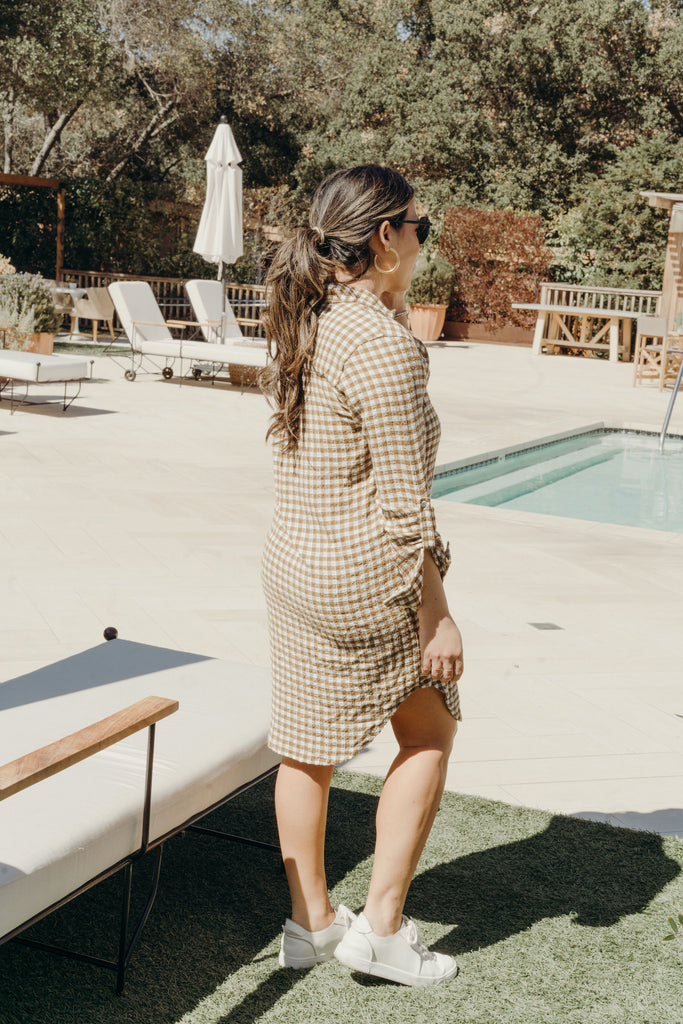 Paige Dress, Gingham