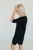 CJ's Favorite T-Shirt Dress, Black