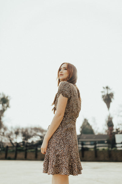 """Malorie"" Dress, Leopard Print"