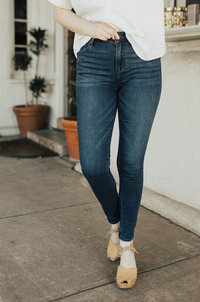 """Bailey"" Jeans, Dark Wash"