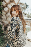 """Mitchell"" Jacket, Taupe Leopard Print"