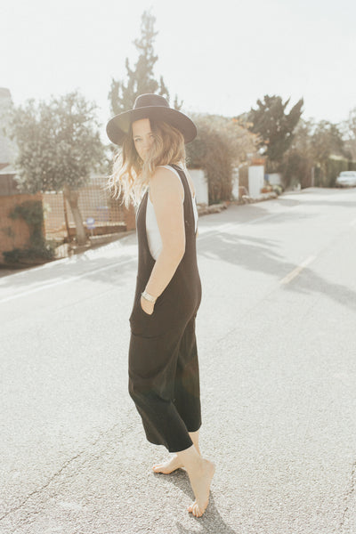 """Erica"" Jumpsuit, Black"