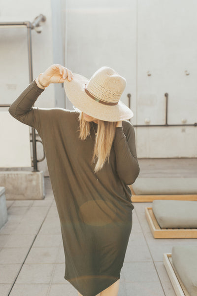 The Everyday Dress, Olive