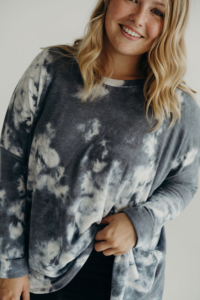 Evelyn Tie Dye Pullover Sweater