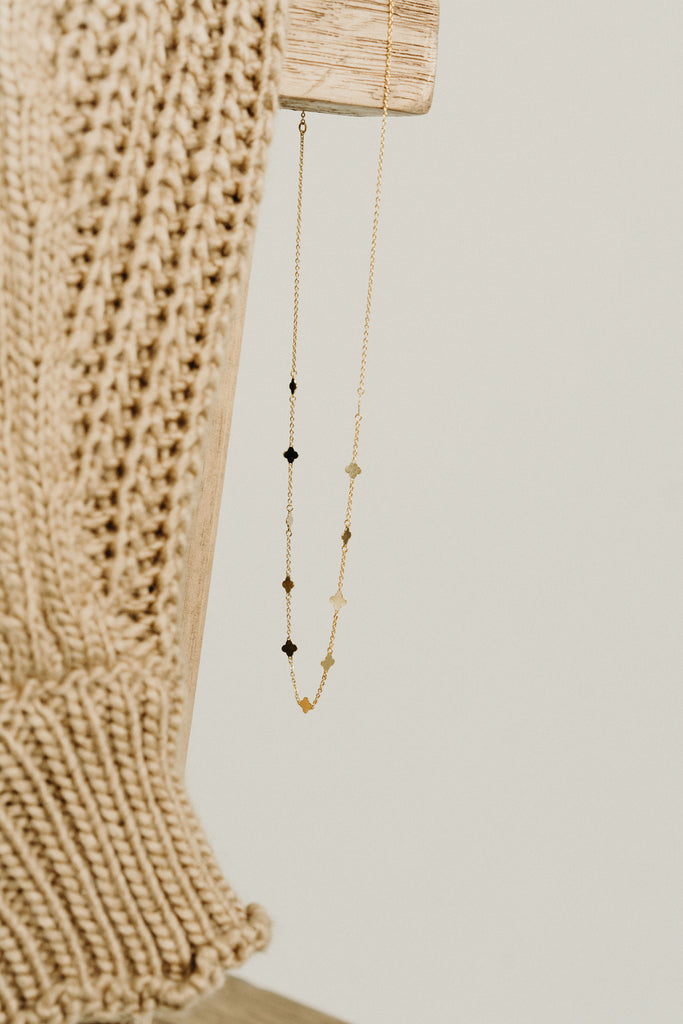 Leland Necklace, Gold