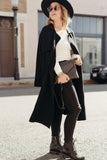 Paris Sweater Coat, Black