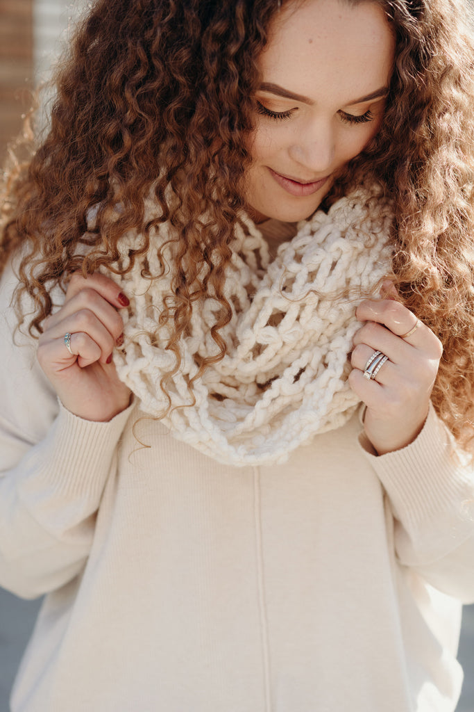 """Thyme"" Knit Scarf"