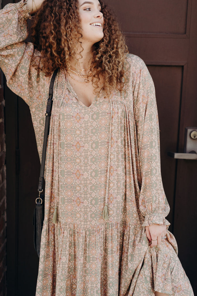 Laurel Boho Maxi Dress