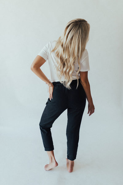 """Kate"" Straight Leg Pants, Black"