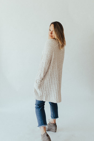 """Ronnie"" Sweater, Ivory"