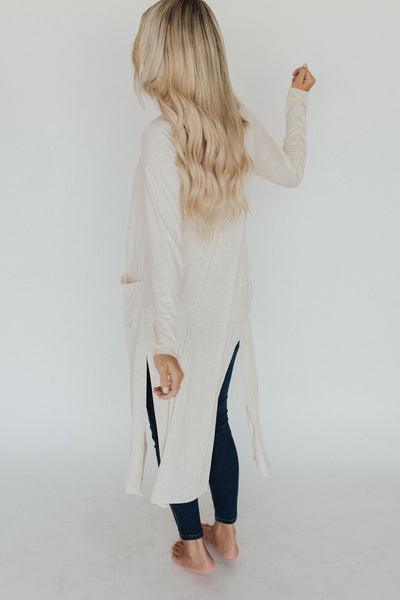 """Adeline"" Duster, Cream"