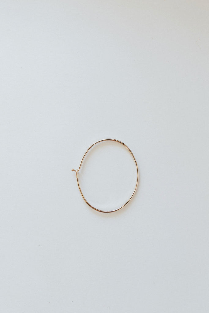 """Be You"" Bangle, Brass"