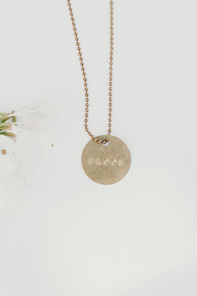 """Bloom"" Pendant Necklace"