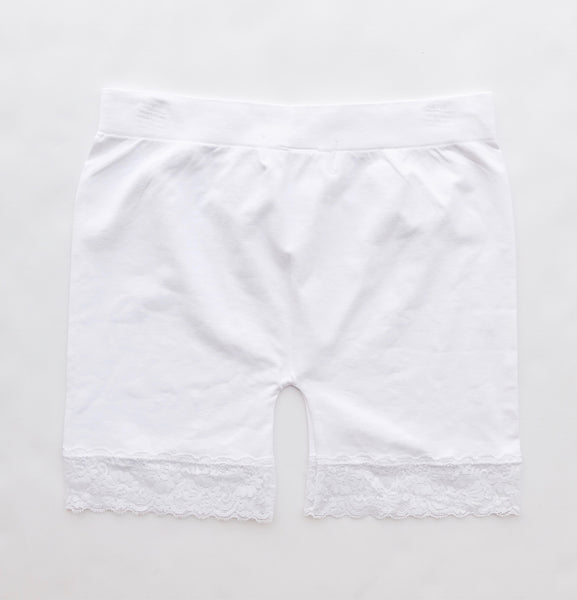 """Essential Layer Shorts"", White"
