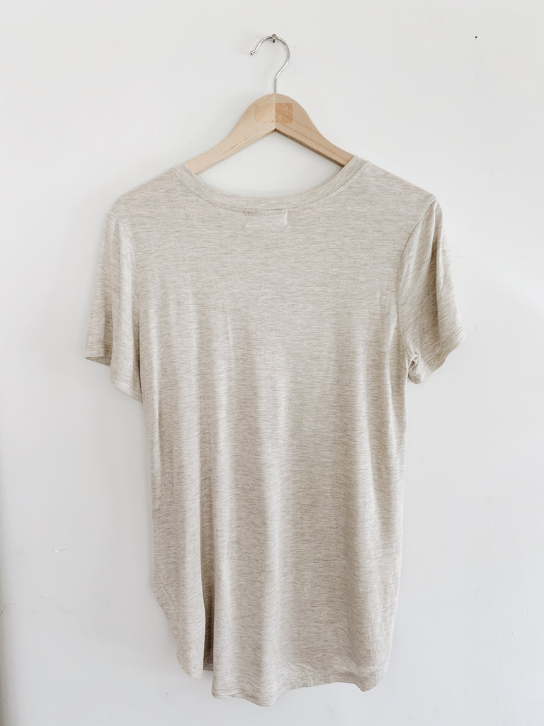 """Brooks"" Active Tee, Oatmeal"