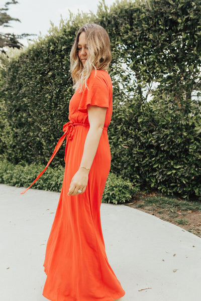 """Taylor"" Maxi Dress, Red"
