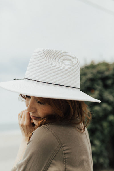 """Carrillo"" Hat, White"