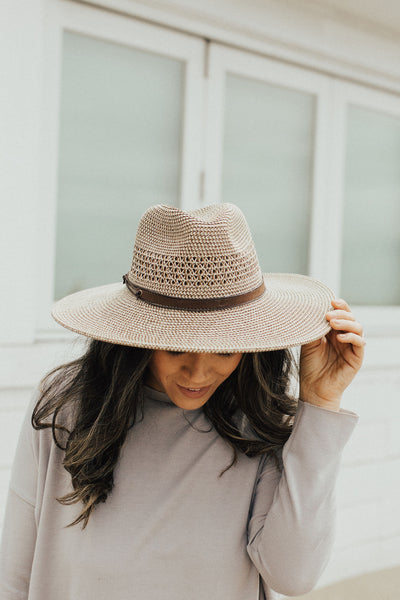 """Ventura"" Hat, Brown"