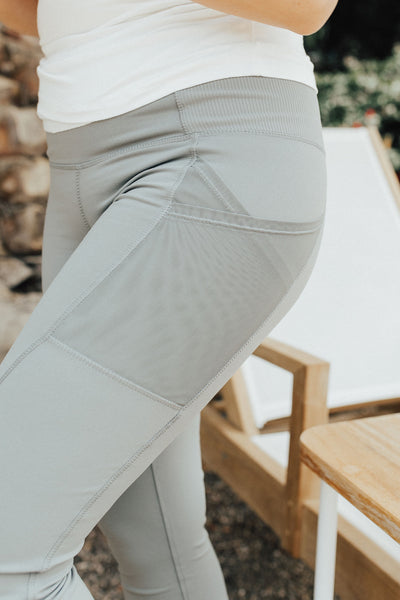 """Ridge"" Active Leggings, Olive"