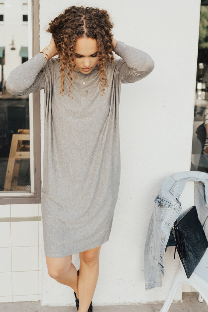 """The Everyday Dress"", Grey"