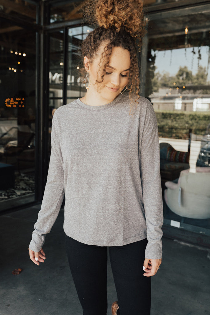 """Loften"" Long Sleeve Top"