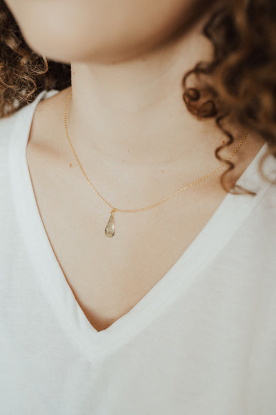 """Abel"" Necklace, Gold"