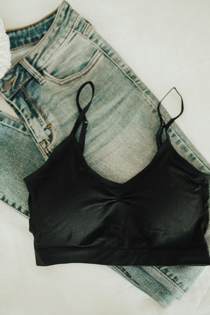 """Essential"" Padded Bralette"