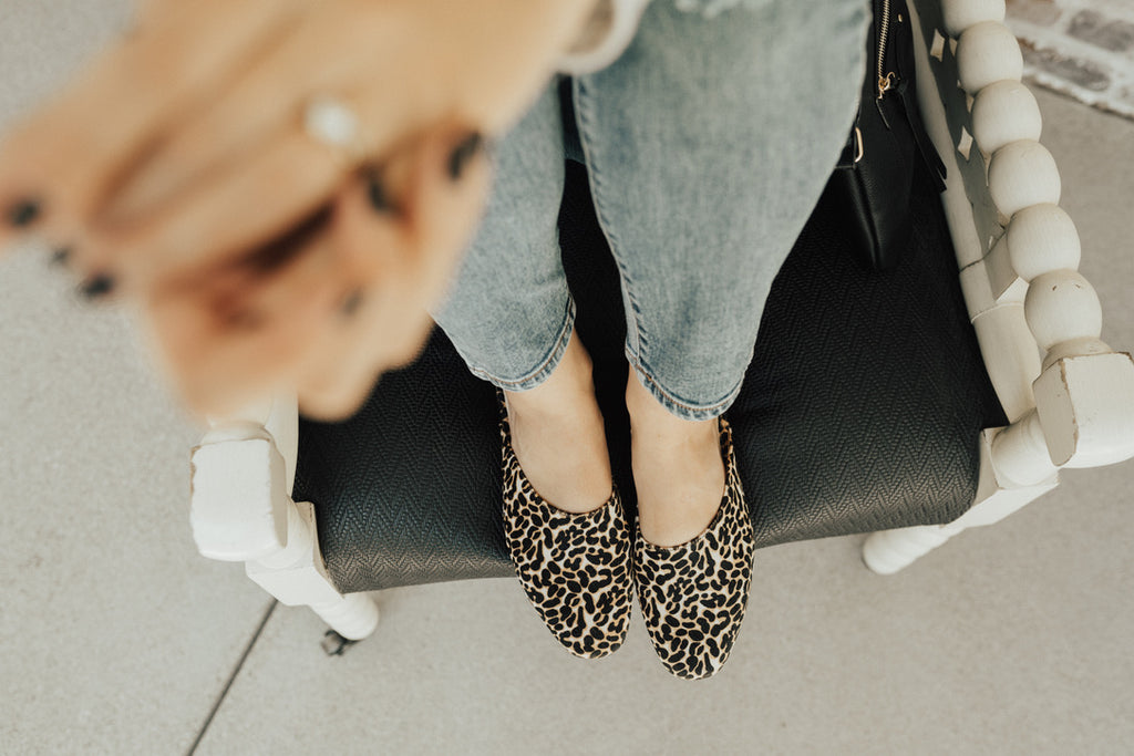 """Zip It"" Mule Slip On, Leopard Print"