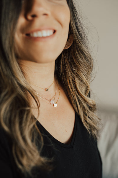 """Heart"" Dainty Collar Necklace"