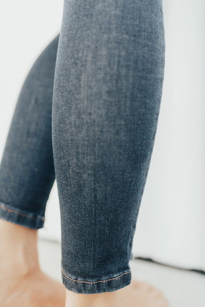 """Keller"" High Rise Jeans, Dark Wash"